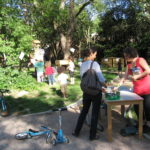 Animation compostage en plein air, Toulouse